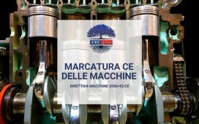 Marcatura CE delle macchine