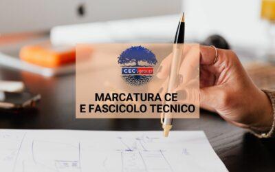 Marcatura CE e fascicolo tecnico