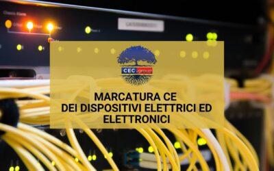 Marcatura CE dei prodotti elettrici ed elettronici